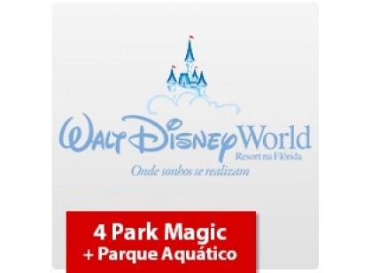 4 Park Magic + Parque Aquático (Oferta Especial)